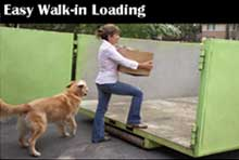 Easy Walk-in Loading